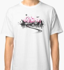 Cityscape background, urban art Classic T-Shirt