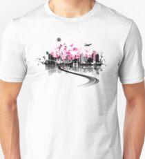 Cityscape background, urban art T-Shirt