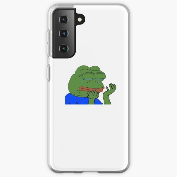 PepeHands Twitch Emote Samsung Galaxy Soft Case