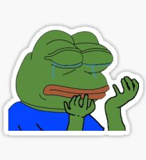 PepeHands Twitch Emote Sticker