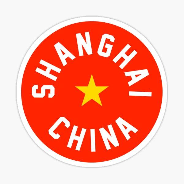 Shanghai - China Sticker