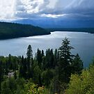 Holland Lake - Montana by Kathy Weaver