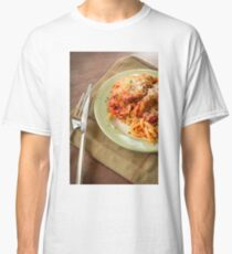 Chicken Parmesan with Linguine Classic T-Shirt