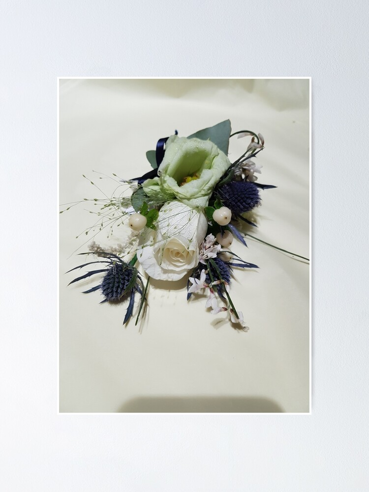 Corsages Neutral Poster By Ollieandquinn Redbubble
