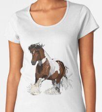 Gypsy Cob Red Rocky  Women's Premium T-Shirt