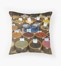 Scales and Spices Throw Pillow