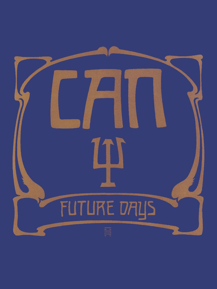 Can - Future Days T-shirt | Unisex T-Shirt