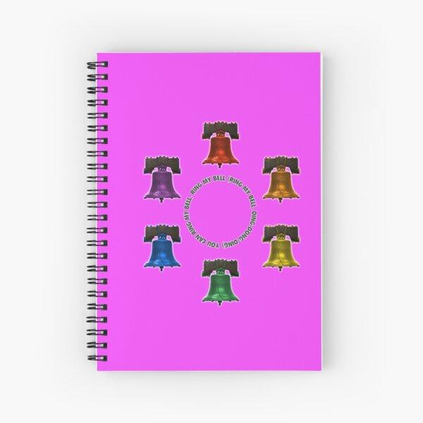 Ring My Bells Spiral Notebook