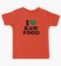 I love raw food Kids Clothes