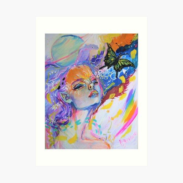 Sekhmet Art Print