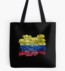 Colombia Vintage Flag Tote bag