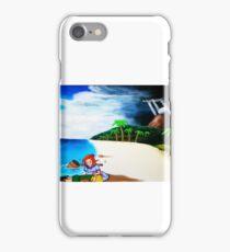 Link's Awakening Washed Ashore  iPhone Case/Skin