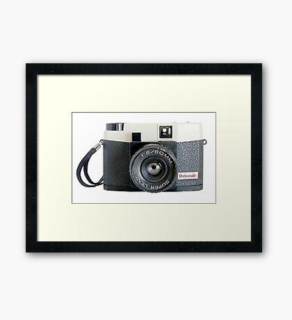 Debonair Plastic Camera #2 Framed Print