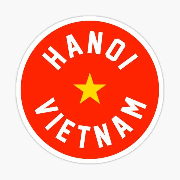 Hanoi, Vietnam Sticker