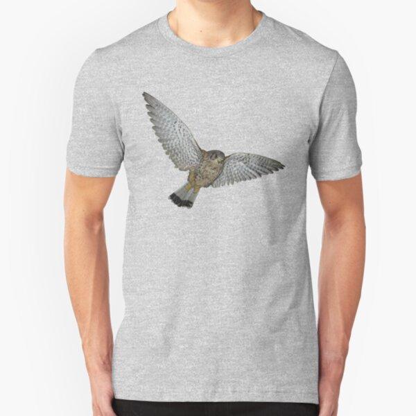 Kestrel in flight Slim Fit T-Shirt