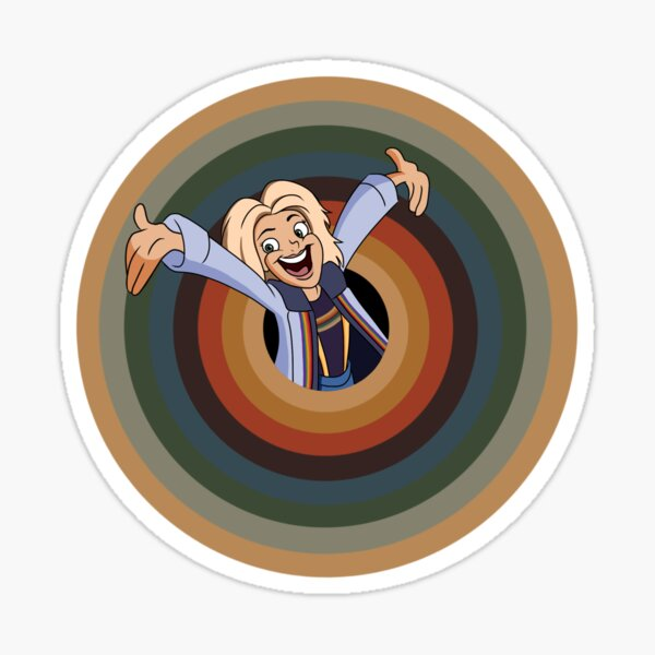 Timey Toon Adventures Sticker