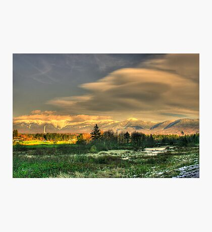 Light Fades on the Presidential Range Photographic Print