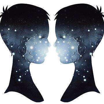 Galaxy Love - Him & Him by SingerNZ