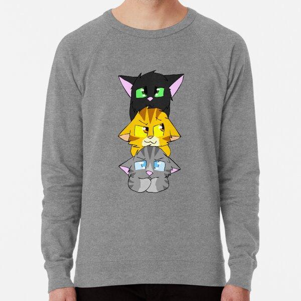 Jayfeather, Hollyleaf and Lionblaze  Lightweight Sweatshirt