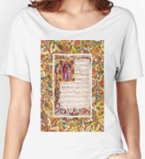 Music Manuscript Women's Relaxed Fit T-Shirt