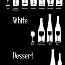 Wine Infographic by Lillian Ripley