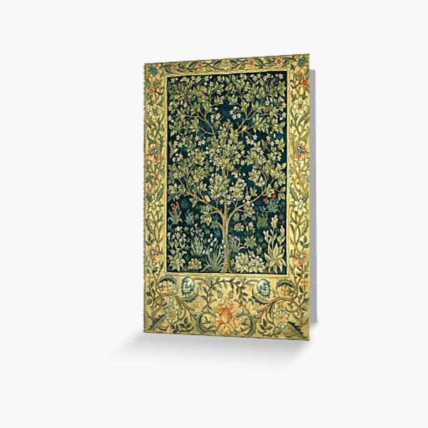 Tree of Life by William Morris Greeting Card