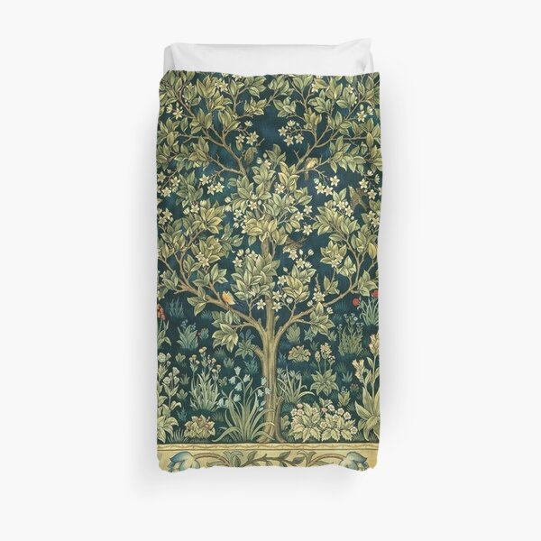 Tree of Life by William Morris Duvet Cover