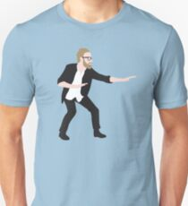 Pre-show Defensive Crouch - Matt Berninger Unisex T-Shirt