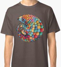 Regenbogen Pangolin Classic T-Shirt