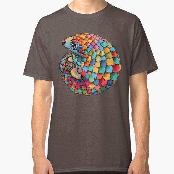Rainbow Pangolin Classic T-Shirt