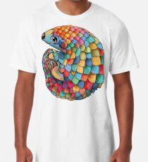 Camiseta larga Rainbow Pangolin