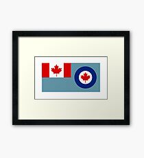 Royal Canadian Air Force - Ensign Framed Print