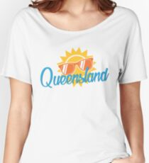 Queensland Flashback Women's Relaxed Fit T-Shirt