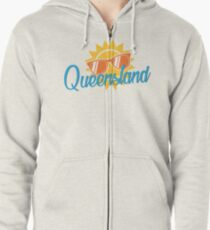 Queensland Flashback Zipped Hoodie