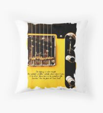 Springsteen Lyrics Tribute. The Ghost Of Tom Joad. Throw Pillow