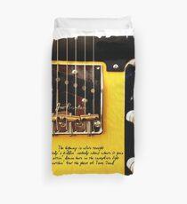 Springsteen Lyrics Tribute. The Ghost Of Tom Joad. Duvet Cover