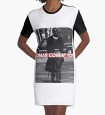 OMAR Graphic T-Shirt Dress