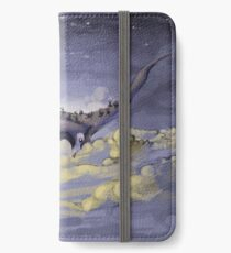 """""""Sky Ray and the Ants"""" - Digital Mixed Media Painting iPhone Wallet/Case/Skin"""