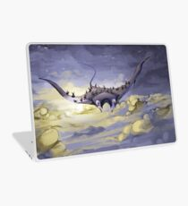 """Sky Ray and the Ants"" - Digital Mixed Media Painting Laptop Skin"