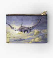 """Sky Ray and the Ants"" - Digital Mixed Media Painting Studio Pouch"