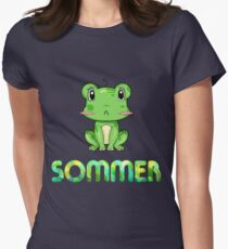 Sommer Frog Women's Fitted T-Shirt