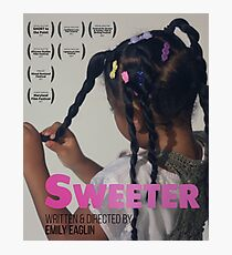 Sweeter (Short Film) Photographic Print