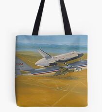 NASA Space Shuttle Enterprise Tote Bag