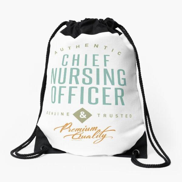 Chief Nursing Officer Drawstring Bag