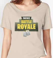 Battle Royale Fortnite Women's Relaxed Fit T-Shirt