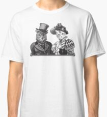 The Owl and the Pussycat | Black and White Classic T-Shirt