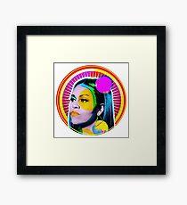 MICHELLE OBAMA | GODDESS Framed Print