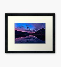 Lily Lake in Estes Park, Colorado. Framed Print