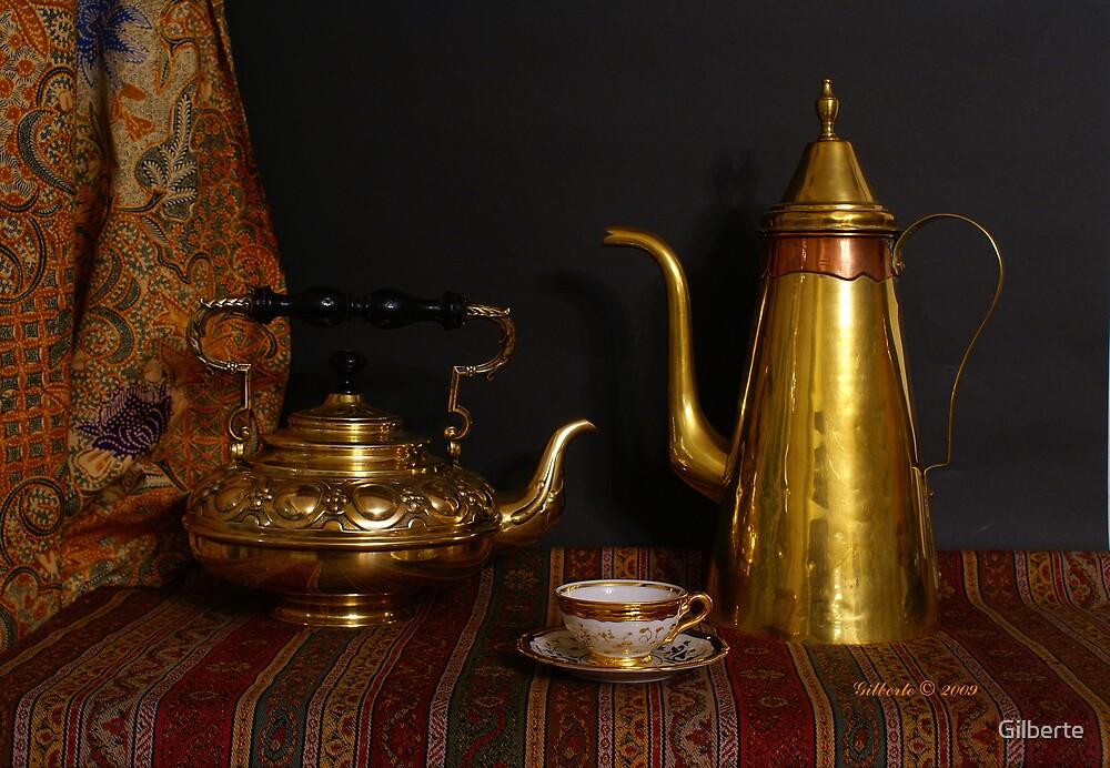 Tea or Coffee? by Gilberte