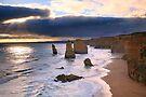 """The Twelve Apostles"" Sunset, Great Ocean Rd, Australia by Michael Boniwell"
